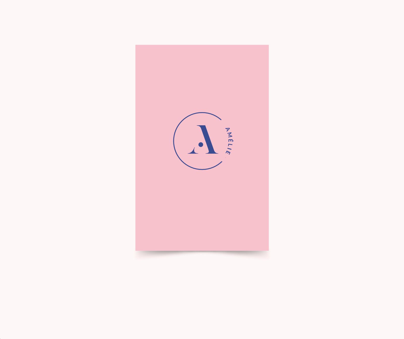 Letterpress geboortekaart Minimalistic Type II
