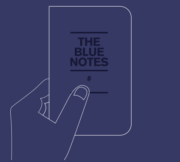 The Blue Notes, Een 48 pagina's pocket notebook